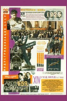 393. Советский плакат: Индустриализация СССР