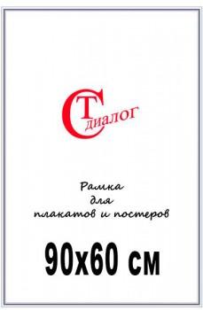 19. Рамка для плакатов и постеров. Серебро