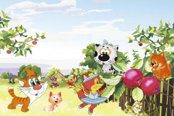 070. Детский плакат: Хорошо в деревне летом