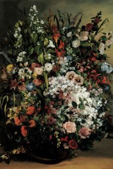 034. Живопись: Букет цветов, Гюстав Курбе
