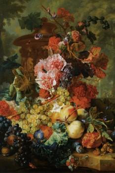 056. Живопись: Букет цветов. Ян ван Хейсум