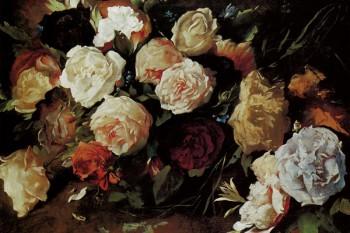 057. Живопись: Цветы. Автор неизвестен
