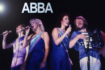003. Постер ABBA: Björn Kristian Ulvaeus, Benny Bror Göran Andersson, Agnetha Åse Fältskog, Anni-Frid Synni Lyngstad