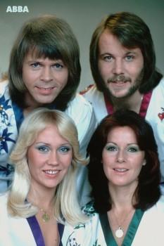 004. Постер: Квартет ABBA