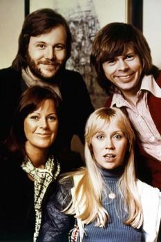005. Постер: Поп группа ABBA