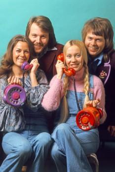 006. Постер: АВВА. Группа в начале карьеры.