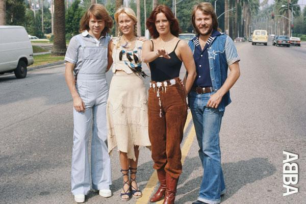 008-2. Постер: Вокально-инструментальный ансамбль ABBA в Австралии