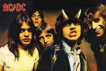 012-2. Постер: AC/DC - рисунок к известному альбому