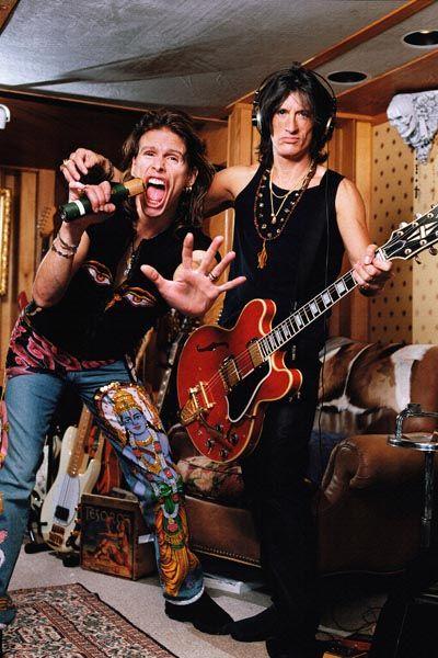 015. Постер: Aerosmith - американская рок-группа