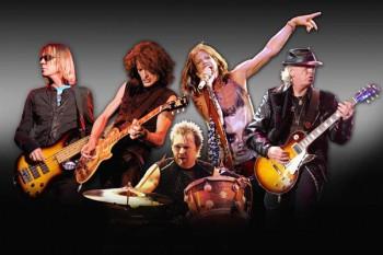 016. постер: Рок группа Aerosmith