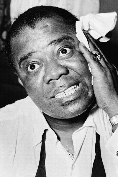 021. Постер: Louis Armstrong. Оказал наибольшее влияние на развитие джаза