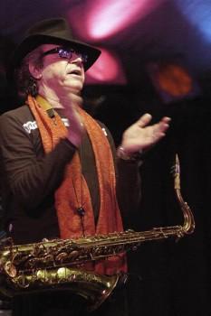 026. Постер: Gato Barbieri - аргентинский тенор саксофонист и композитор