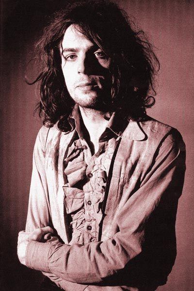 027. Постер: Syd Barret один из основателей Pink Floyd