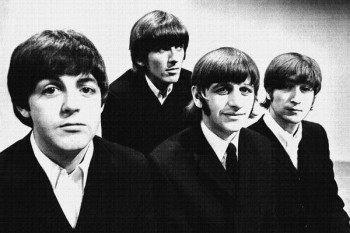 029. Постер: The Beatles в 1964