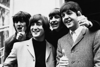 031. Постер: the Beatles в лондонском Палладиуме
