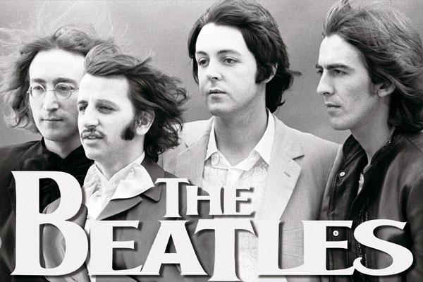033. Постер: The Beatles, поздний период