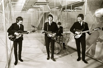 035. Постер: The Beatles в 1966