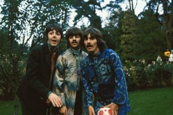 036. Постер: The Beatles после того, как Леннон покинул группу