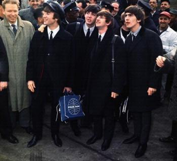 044. Постер: Лучшая британская группа the Beatles