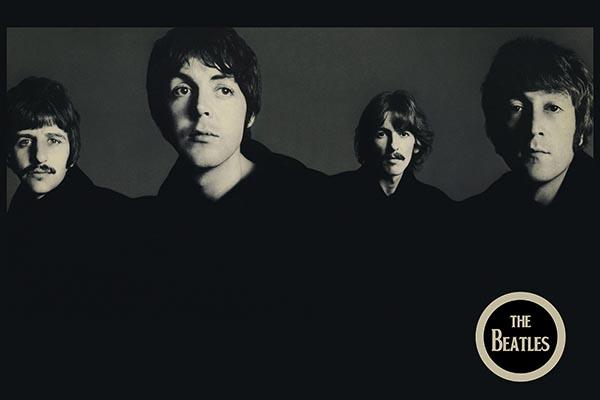 047. Постер: The Beatles, первая половина 60-х