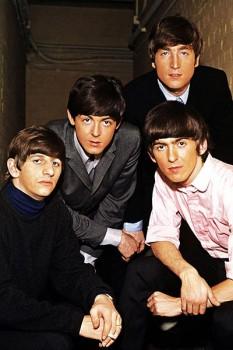 061. Постер: Портрет группы the Beatles