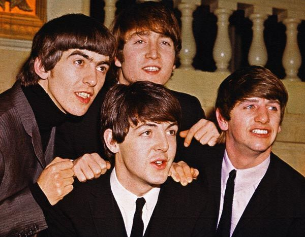 065. Постер: The Beatles в 1966