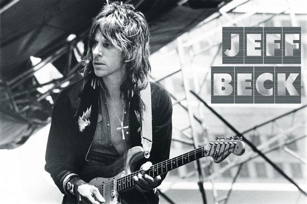 073. Постер: Jeff Beck - британский гитарист-виртуоз, композитор