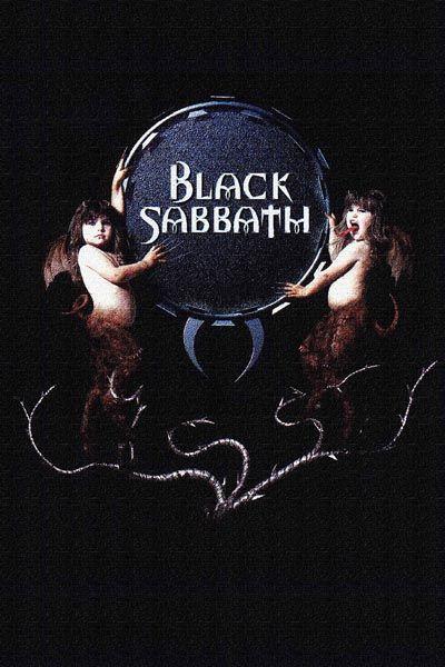079. Постер: Black Sabbath, рисунок кистью