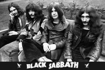 081. Постер: Black Sabbath - классика тяжелого рока