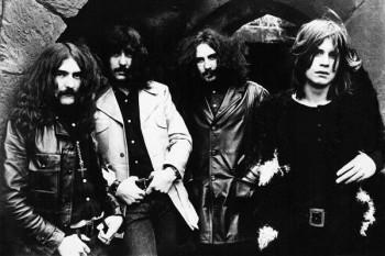082. Постер: Black Sabbath - Британская рок группа, организованная в Бирмингеме, Англия в 1969 году