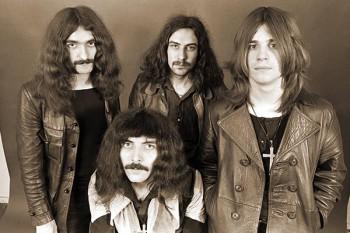 086. Постер: Black Sabbath, британская рок-группа, которая оказала значительное влияние на развитие рок-музыки