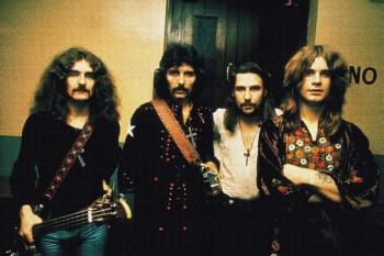 088. Постер: Black Sabbath в свои лучшие годы