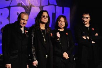 090. Постер: Black Sabbath на пресс конференции