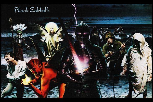 093. Постер: Black Sabbath, рисунок к альбому