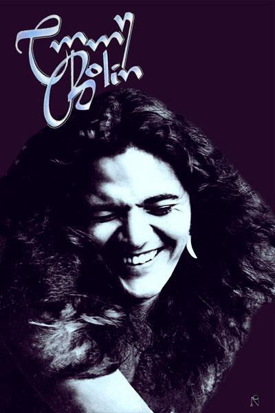 097-2. Постер: Tommy Bolin - культовый американский гитарист, автор песен