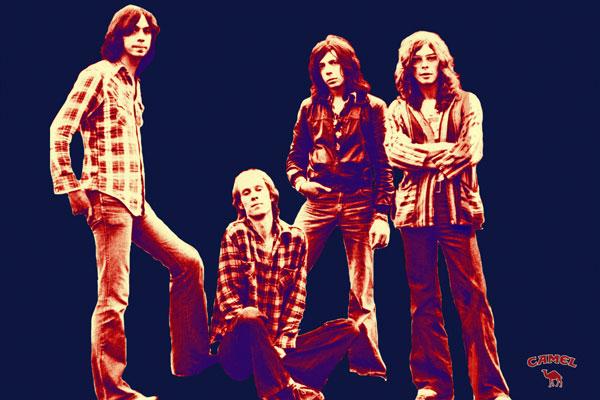 102-2. Постер: Camel - одна из величайших групп британского арт-рока
