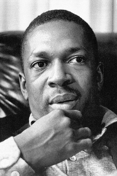 114. Постер: John Coltrane - американский джазовый музыкант