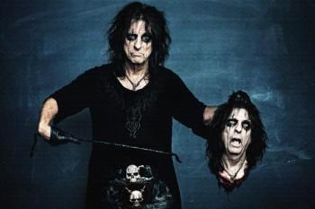 115. Постер: Alice Cooper - американский рок музыкант, певец, автор