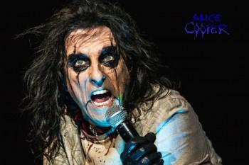 118. Постер: Alice Cooper - ужасы в действии