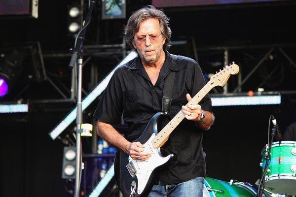 121. Постер: Eric Clapton - один из самых уважаемых и влиятельных музыкальных деятелей