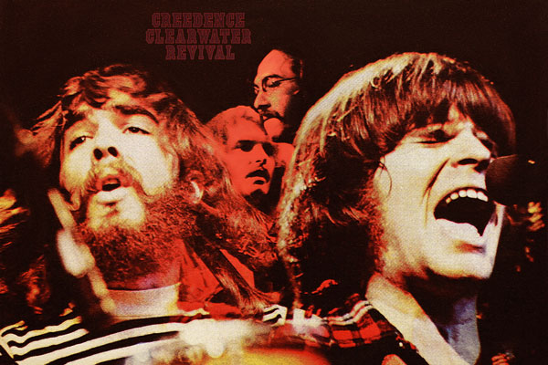 125-2. Постер: Одна из влиятельнейших рок-групп мира - Creedence Clearwater Revival