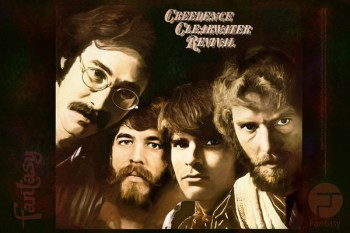 125. Постер: Creedence Clearwater Revival. Популярная американская рок группа, созданная в 1967 году