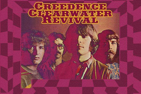 126. Постер: Creedence Clearwater Revival классическая рок группа, добившаяся всемирного успеха
