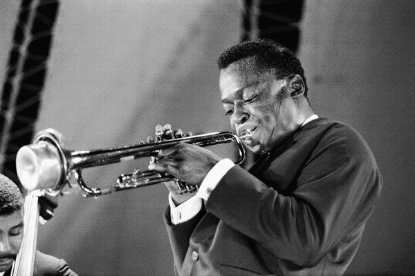 128. Постер: Miles Davis - американский джазовый музыкант, трубач и композитор