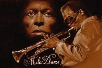 131. Постер: Miles Davis, великий основоположник, учитель и авторитет мирового джаза