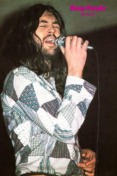 131-4. Постер: Ian Gillan в составе Deep Purple