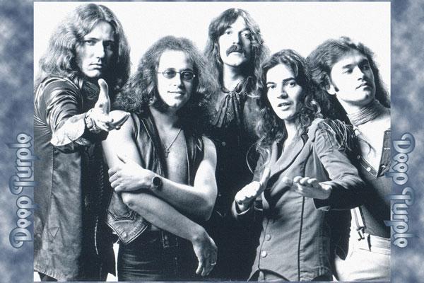 133. Постер: Deep Purple, во времена Come Taste the Band