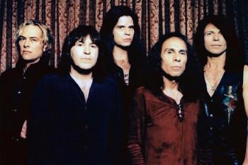 137. Постер: Dio, рок-группа, играющая в стиле hard-rok и hevi-metal