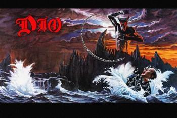 138. Постер Dio drawing to a famous album