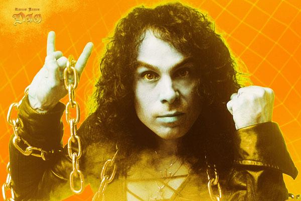 139-2. Постер: Ronnie James Dio, в начале карьеры